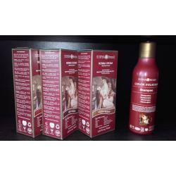 3x barva SURYA BRASIL HENNA KRÉM + šampón COLOR FIXATION ZDARMA