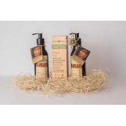 Dárkový balíček pro vlnité vlasy s para ořechy